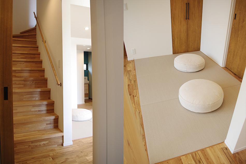 階段,畳,3畳,インテリア
