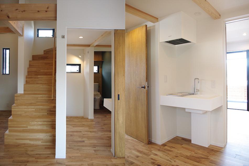 トイレ,階段,ロフト,洗面スペース