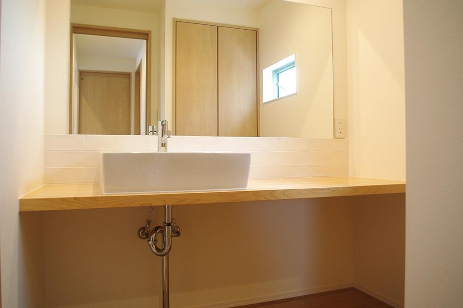 洗面所,明るい,造作