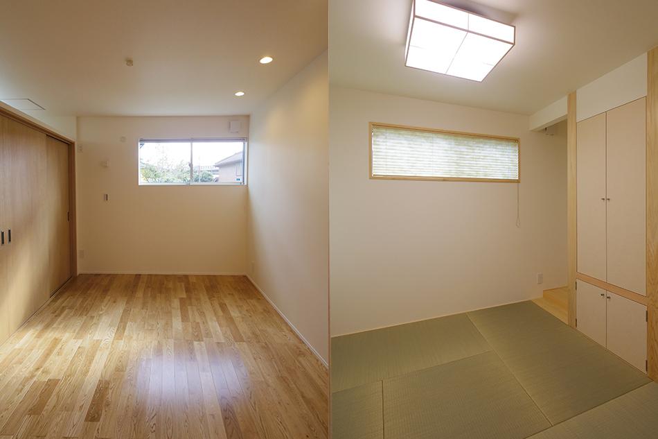寝室,和室,空間