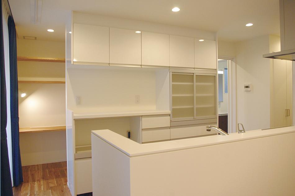 白いキッチン,シンプルなキッチン