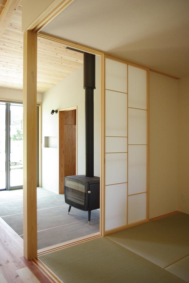 和室,障子,垂れ壁