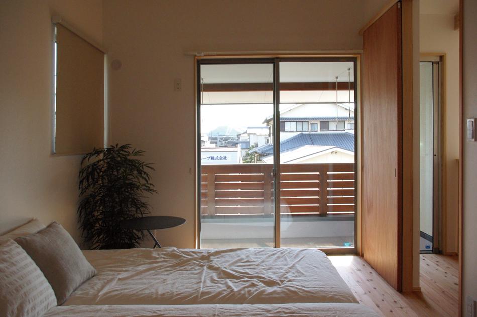 ベッド,植物,窓