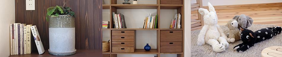 本棚,収納,ぬいぐるみ