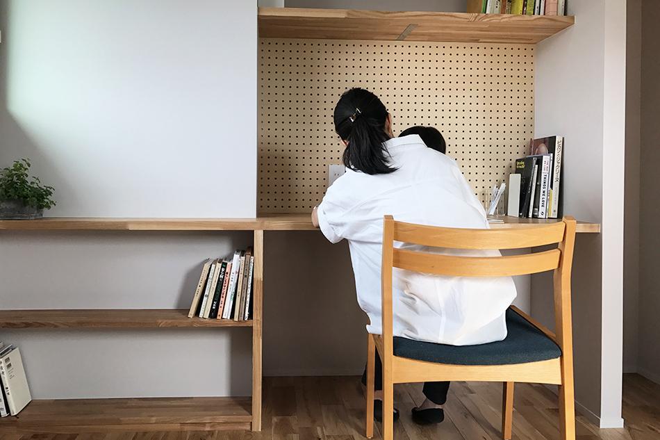 家族,勉強机,子供部屋